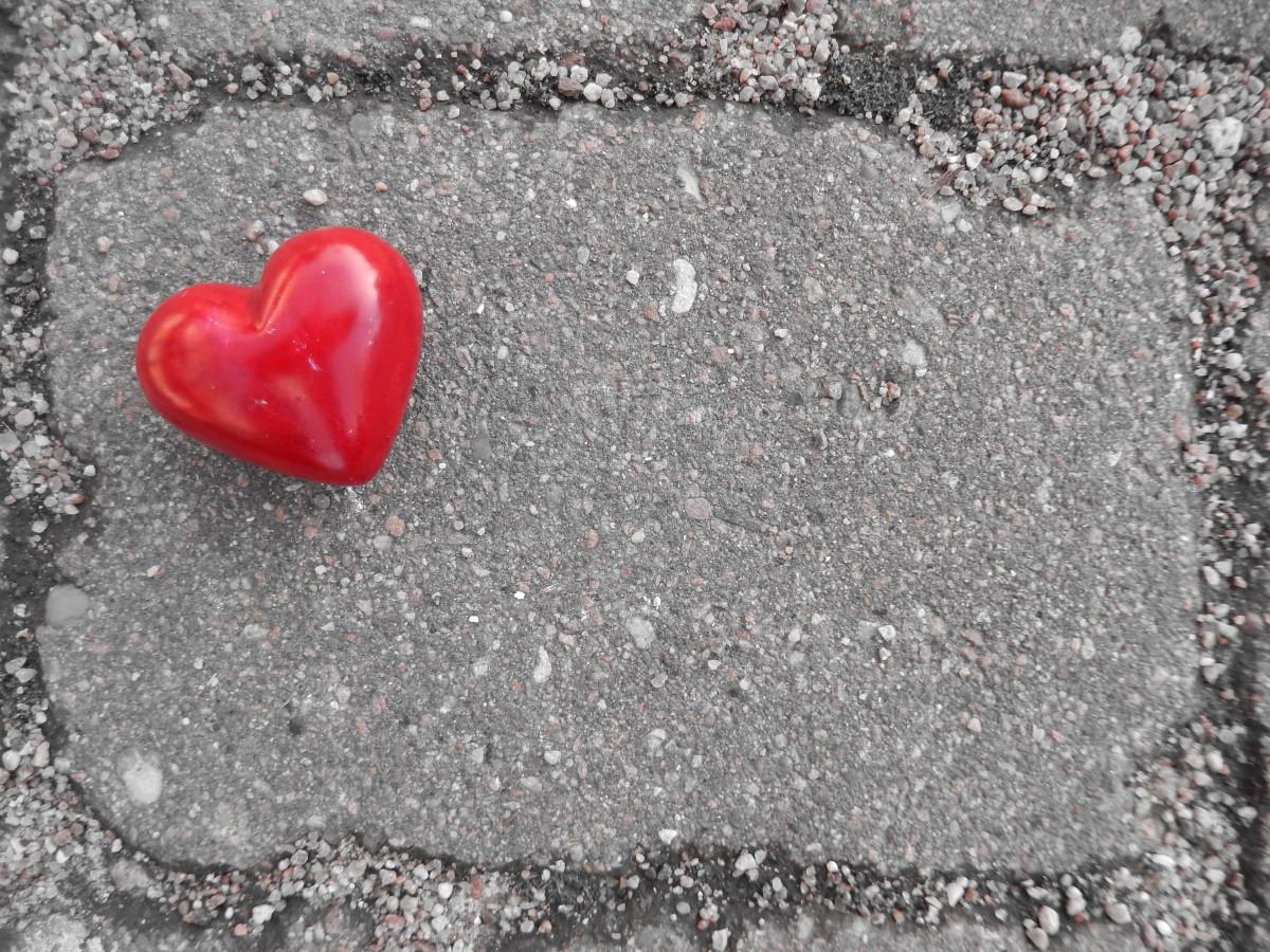 картинки любви на асфальте просто