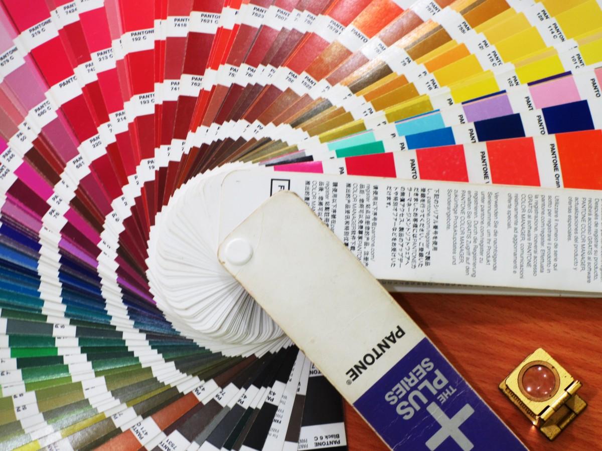 Fotos gratis n mero patr n l nea color azul circulo fuente dise o forma pantone - Pantone textil gratis ...