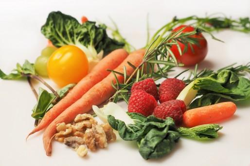 малина, Спелый, Блюдо, Еда, Пища, салат