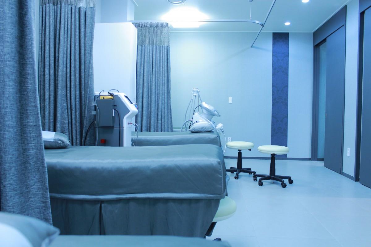 Синий гостиная комната дизайн интерьера дизайн Больница жилье Медицинский Эксплуатация Больничная палата
