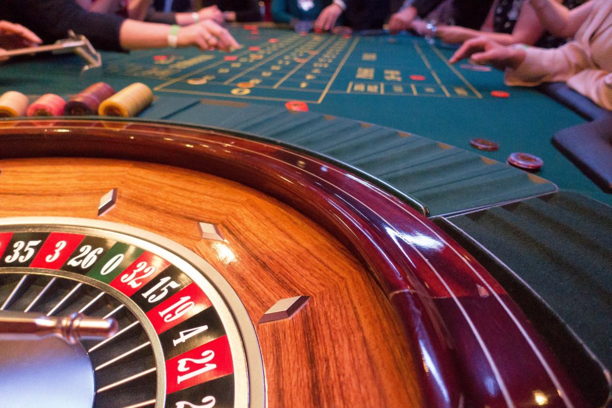 ゲーム中のカジノ