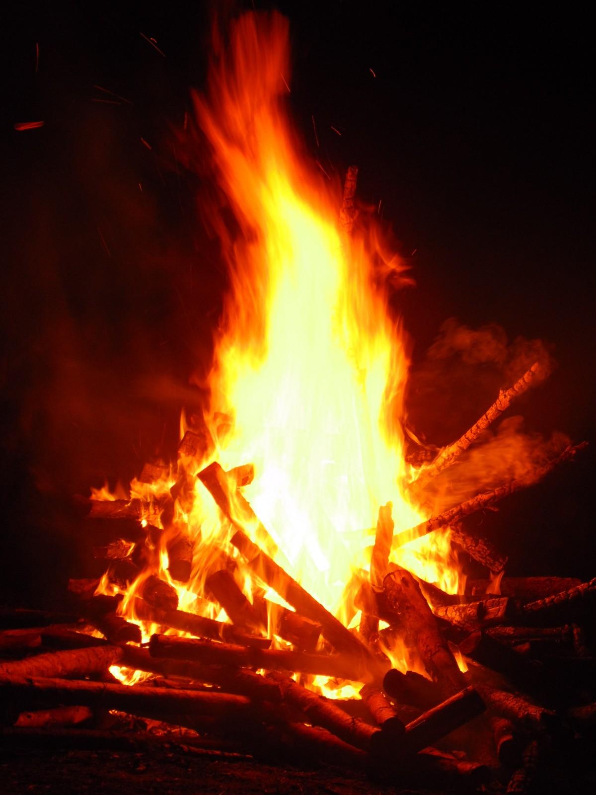 무료 이미지 : 불꽃, 캠프 불, 모닥불, 열, 생명, 세례반, 지구 ...