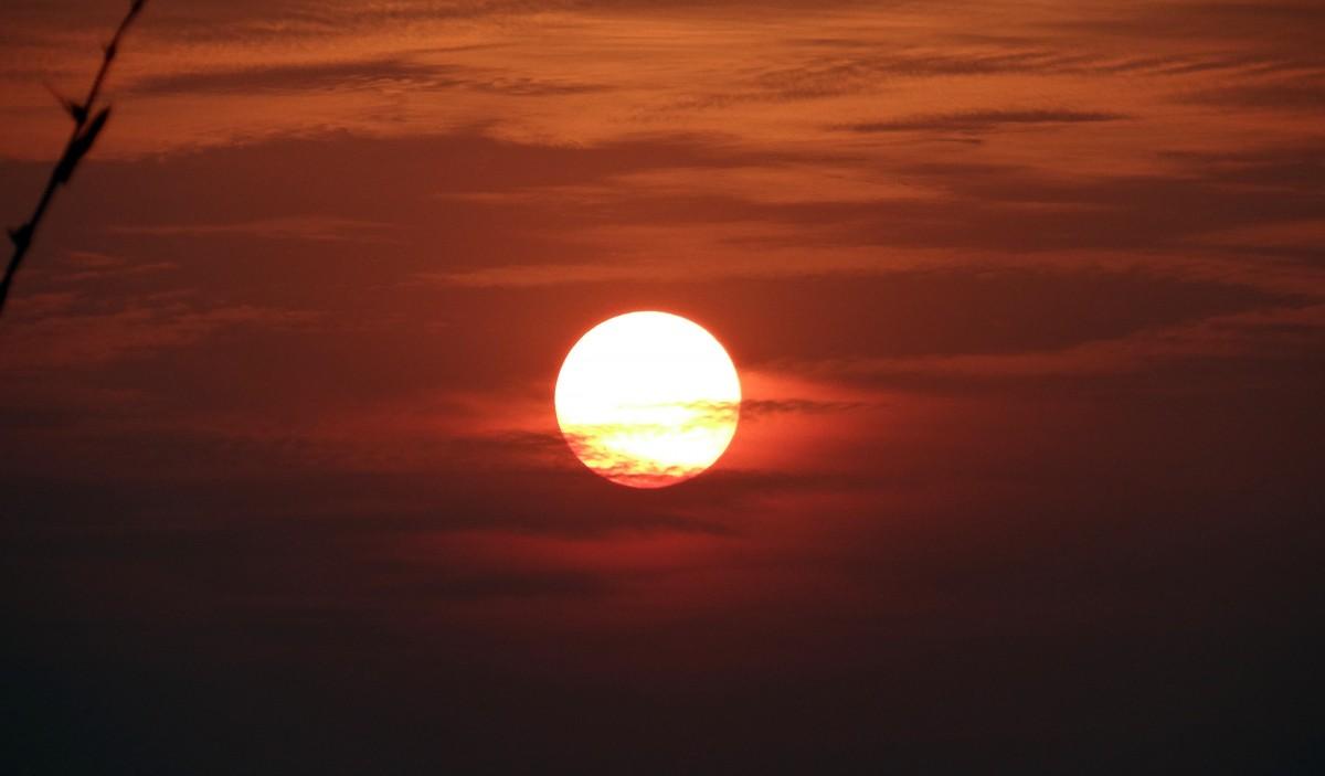 Free Images : sea, cloud, sunrise, sunset, sunlight, dawn ...