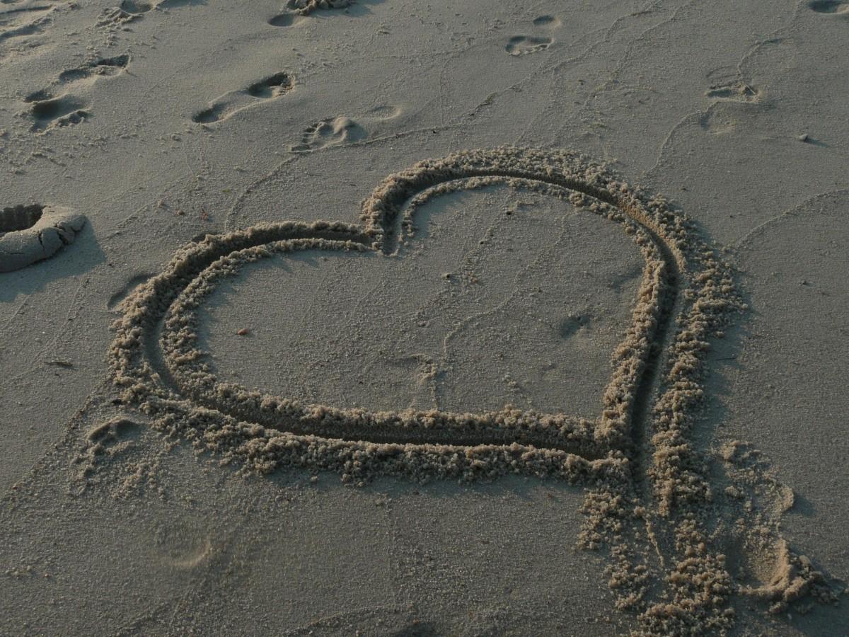 hav, kust, sand, fotavtryck, skylt, kärlek, hjärta, symbol, lera, jord, material, tacksägelse, tillgivenhet, geologi, kärleksfull, valentine, tacksamhet, tack, vägyta, tacksam, mudflat, naturlig miljö, tacka, Bakgrundsbilder In PxHere