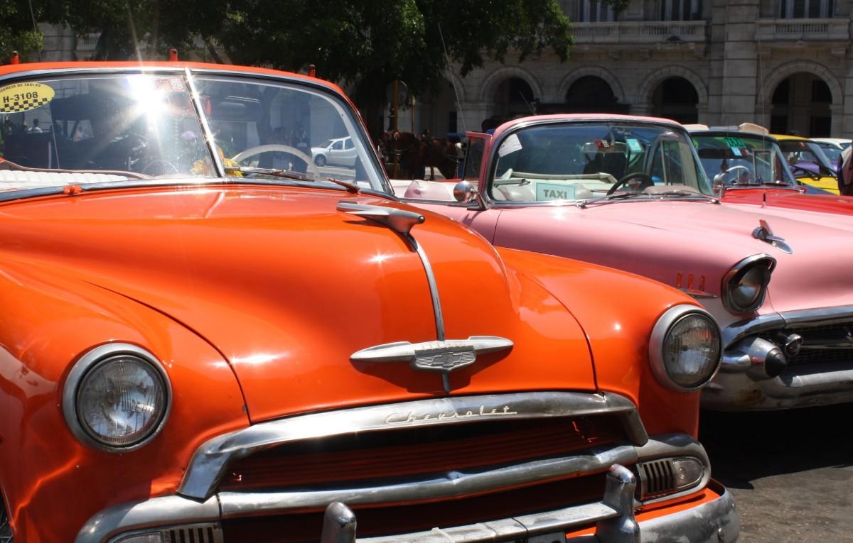 images gratuites cru vieux taxi orange auto v hicule moteur voiture ancienne cuba. Black Bedroom Furniture Sets. Home Design Ideas