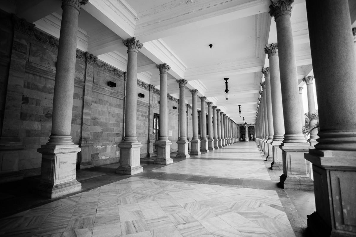 Fotos gratis en blanco y negro arquitectura estructura for Disenos de interiores en blanco y negro