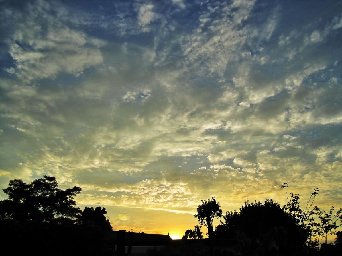 Free Images : horizon, cloud, sun, sunrise, sunset, white ...