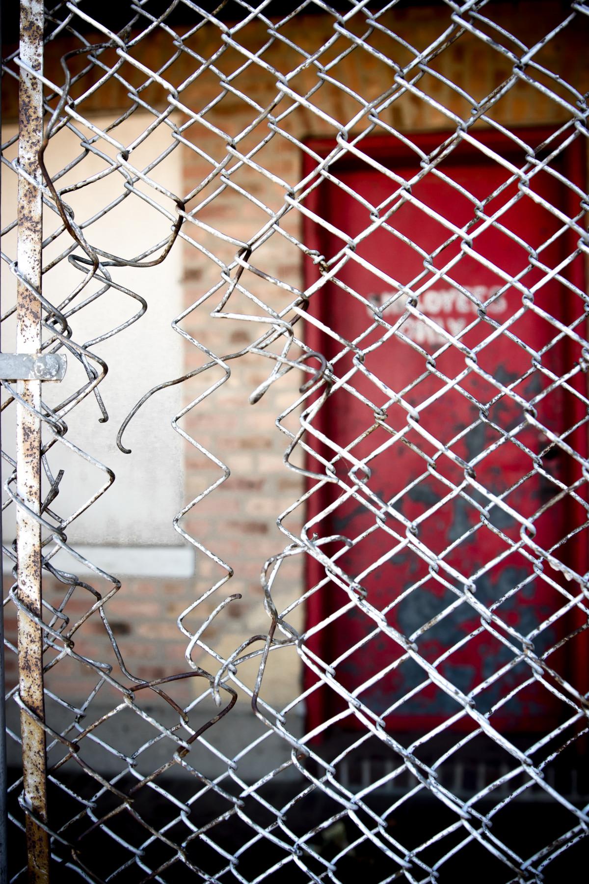 Kostenlose foto : Zaun, Linie, Farbe, Material, Kreis, Spinnennetz ...