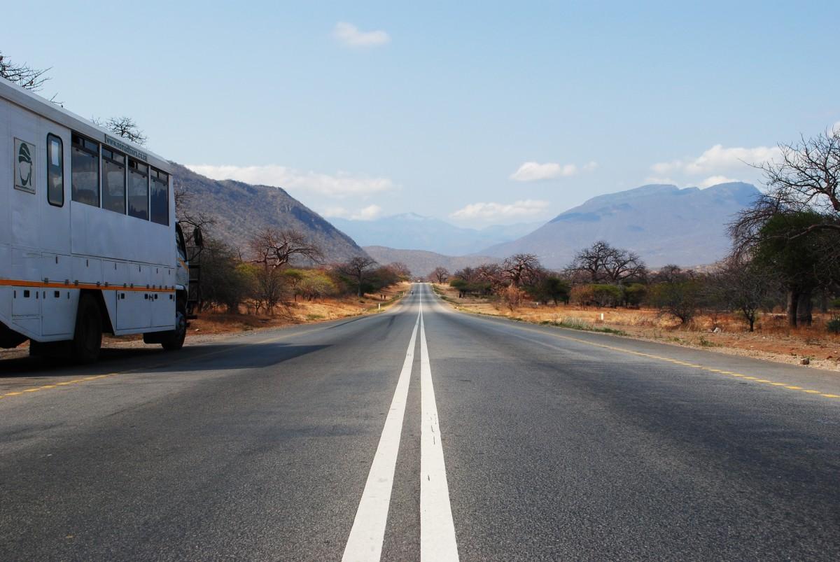 landscape wilderness road highway driving asphalt Free