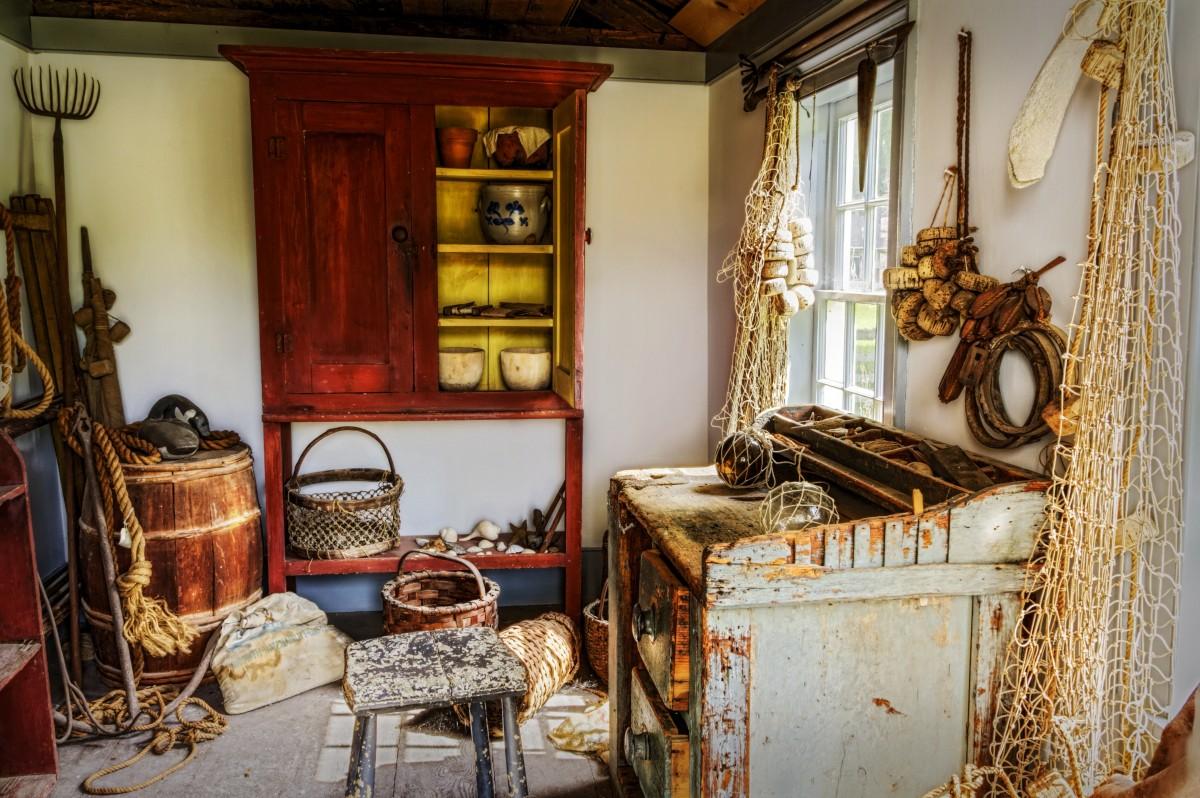 Architecture Wood Vintage Antique Retro House