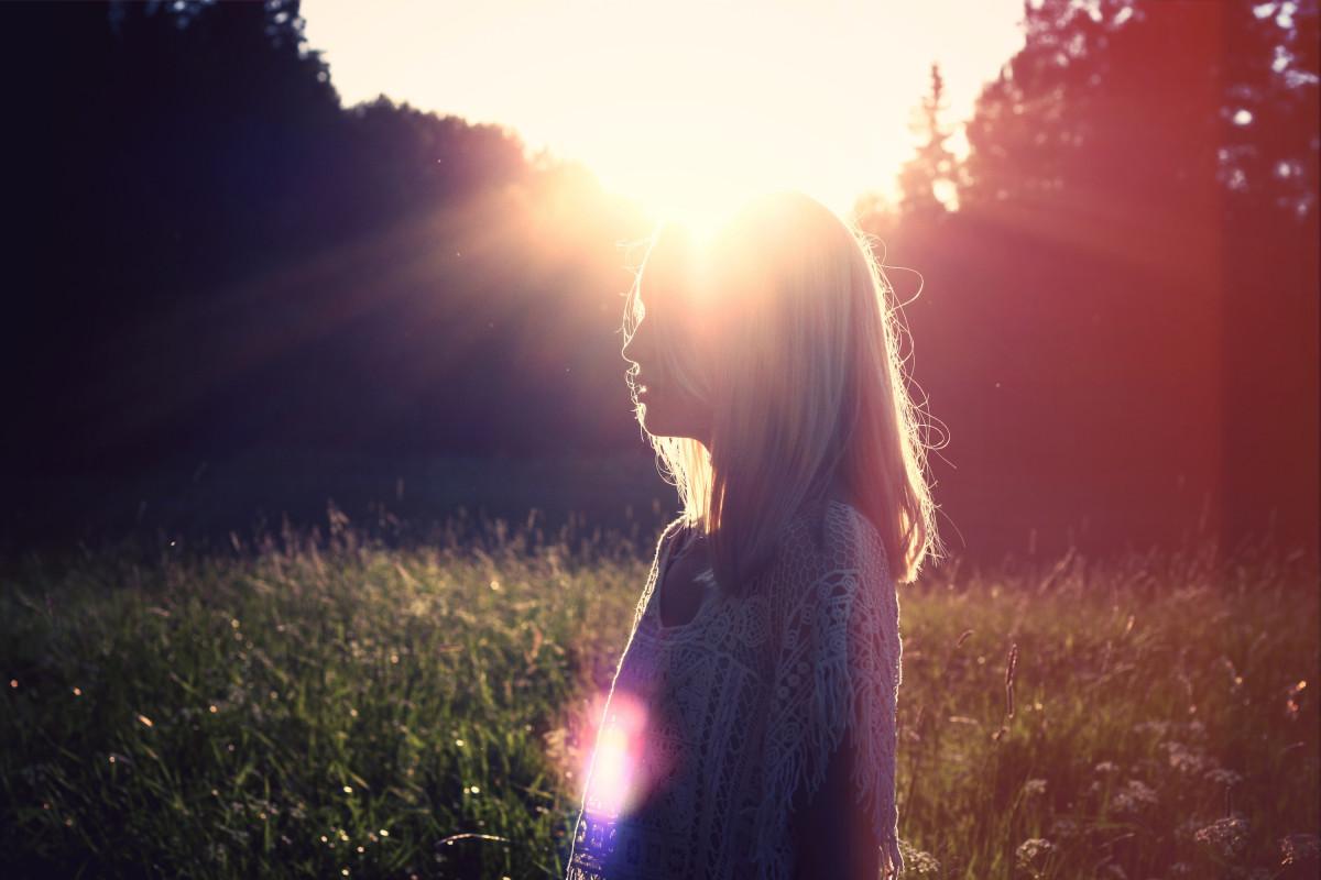 Солнышко картинки для девушки