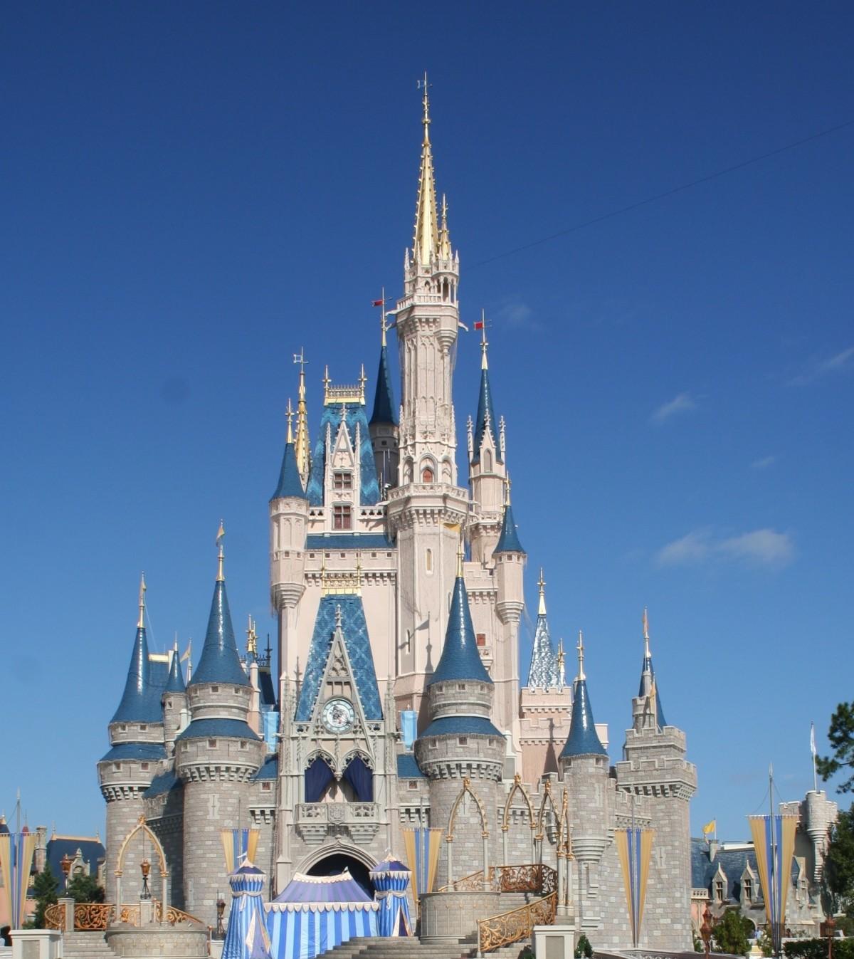 Disney Info Sites: Free Images : Architecture, Building, Palace, Amusement