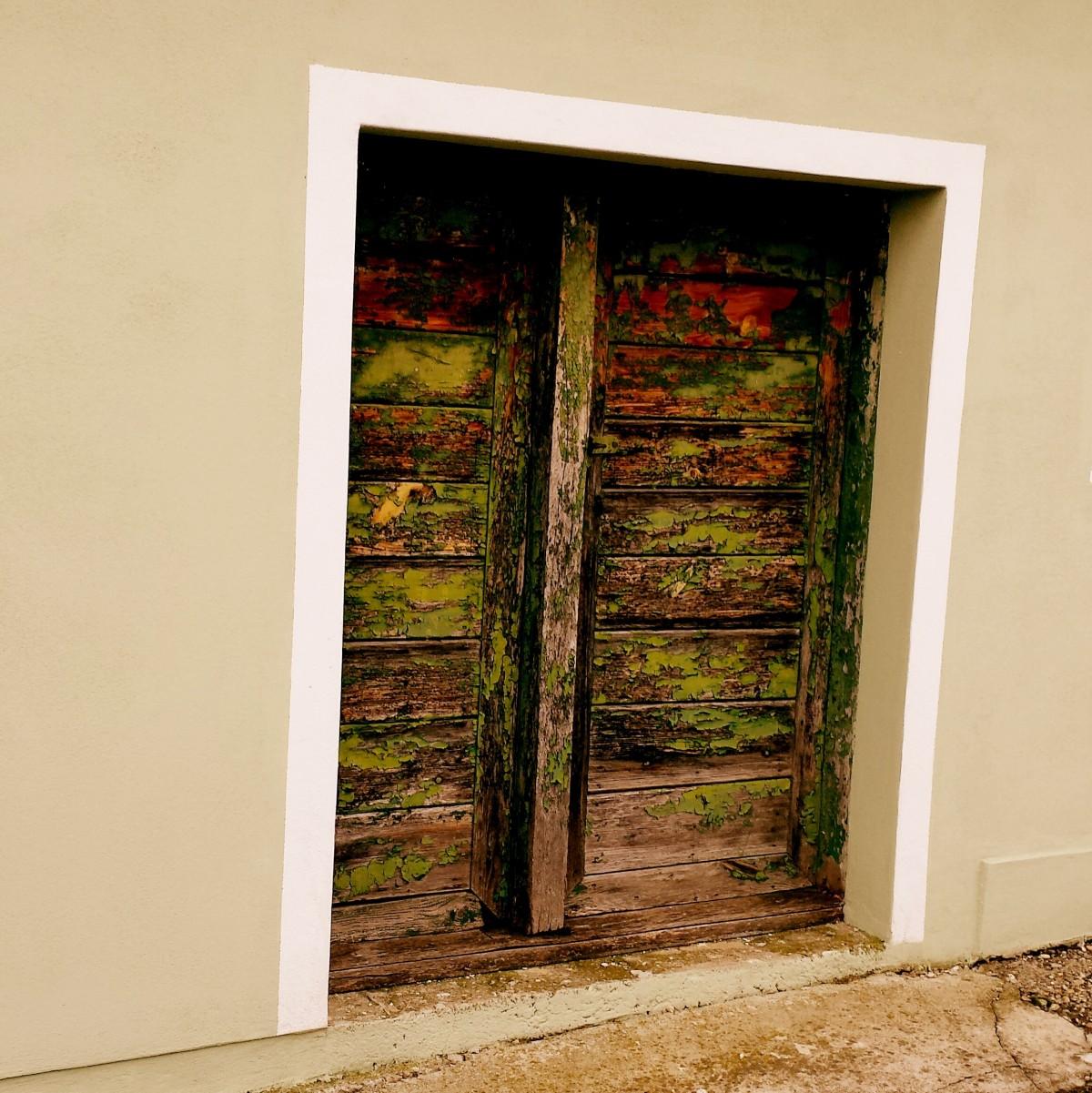 무료 이미지 : 목재, 조직, 늙은, 벽, 빨간, 색깔, 푸른, 문, 그림 ...