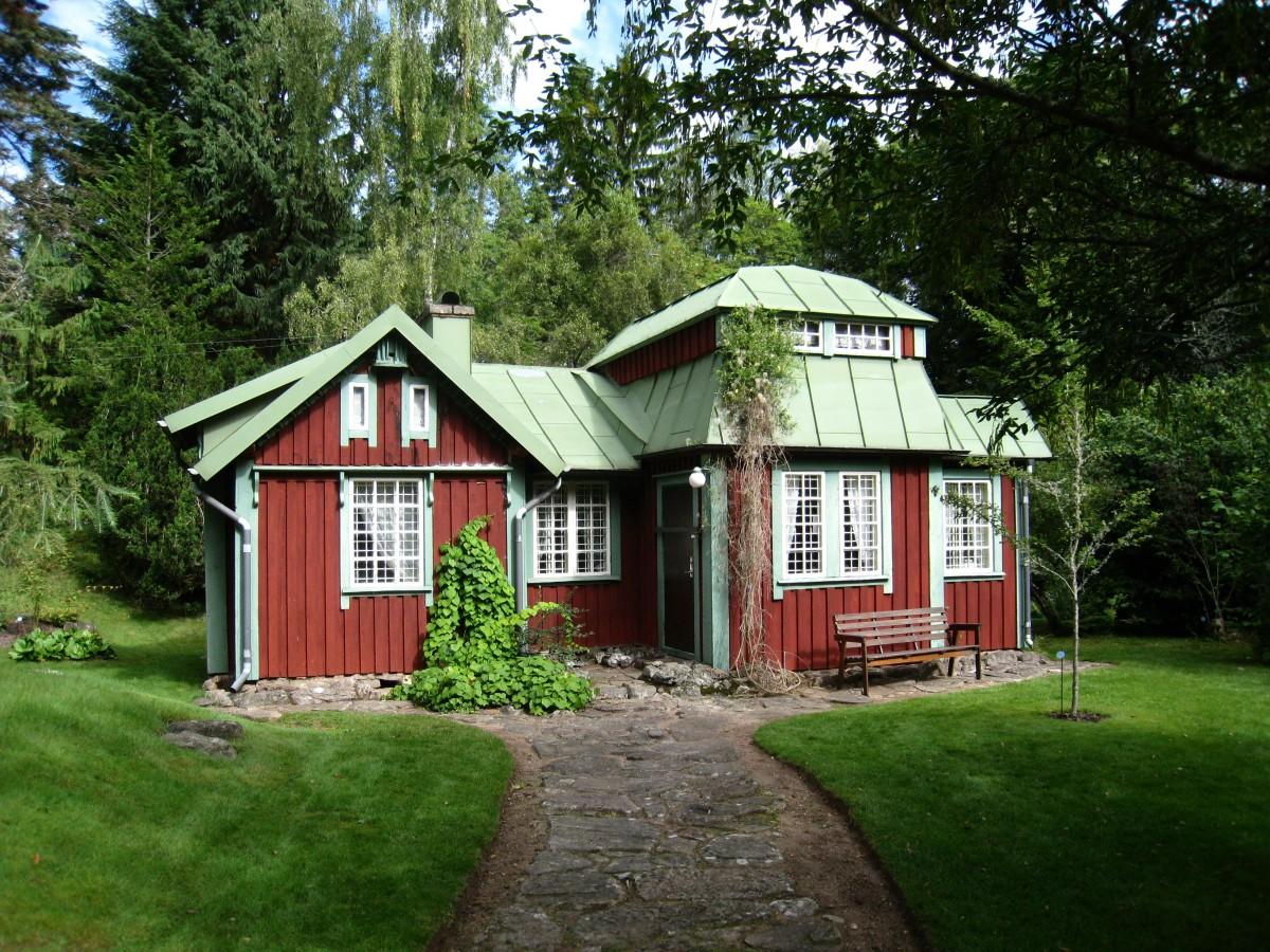 kostenlose foto : baum, bauernhof, haus, gebäude, zuhause, Garten ideen