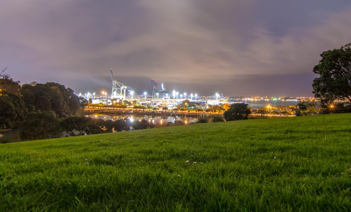 Gambar Pemandangan Rumput Horison Cahaya Awan Struktur