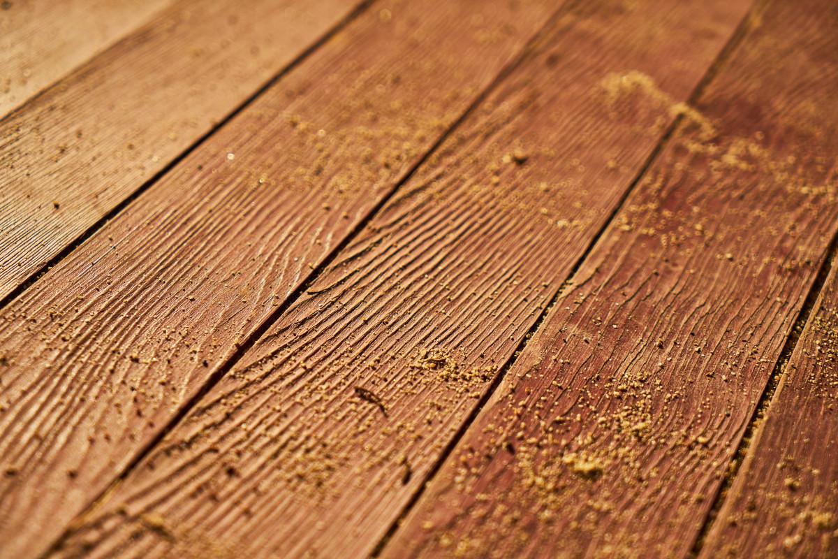 Wood Texture Plank Floor Old Pattern Macro Brown Soil Closeup Lumber Background Hardwood Parquet Timber Detail