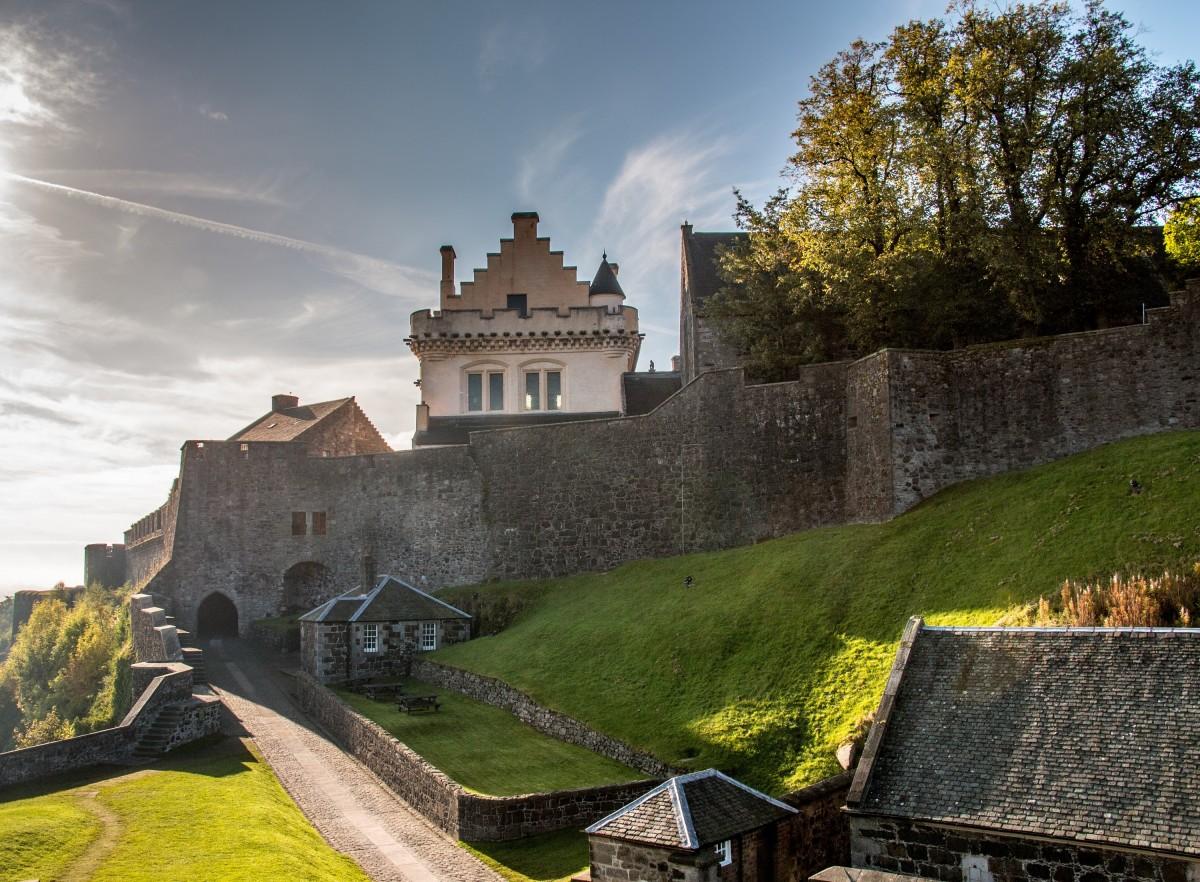 Vista del Castillo de Stirling