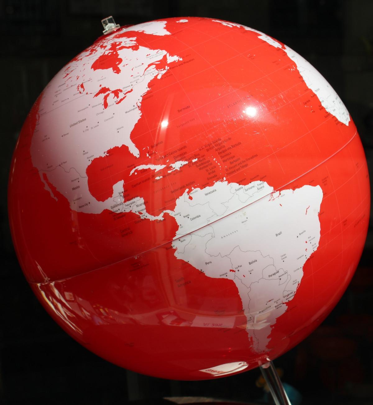 Free Images wood yellow map globe shape north america