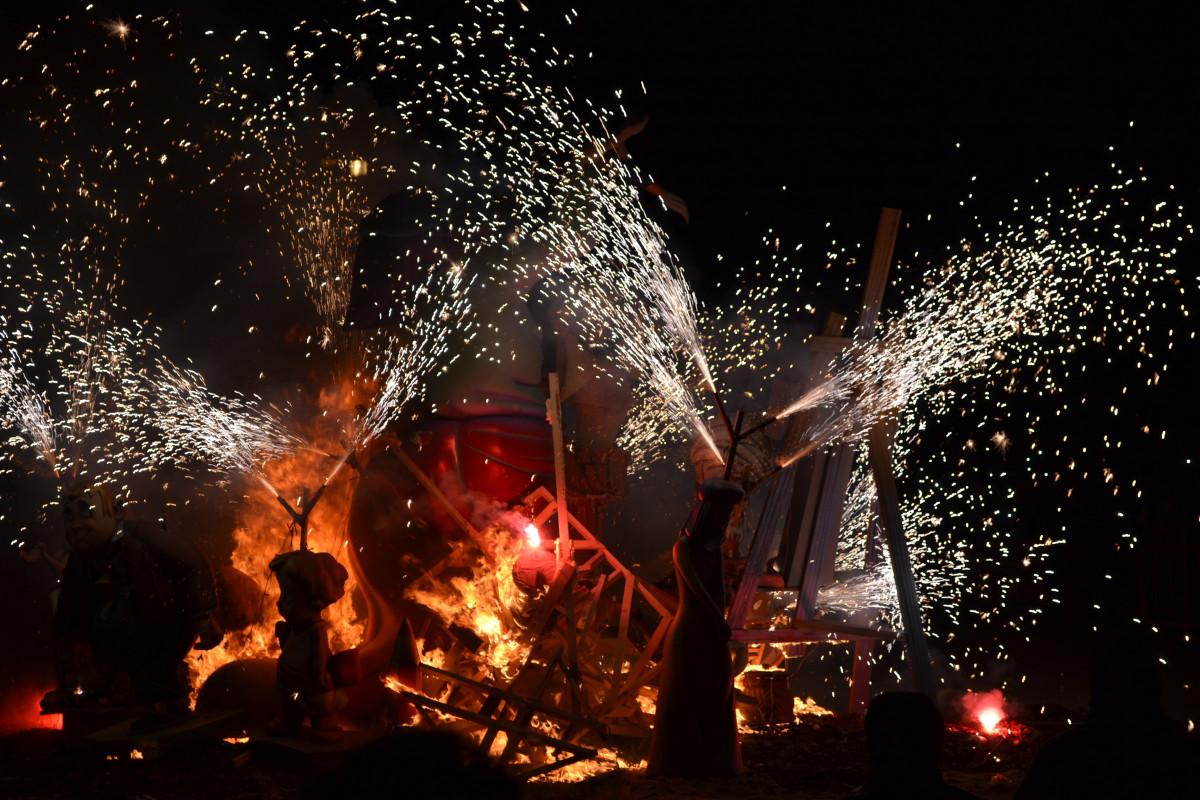 Skogsbrander flammar i sibirien