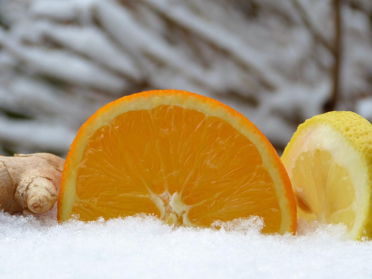 Картинки, картинки апельсины на снегу