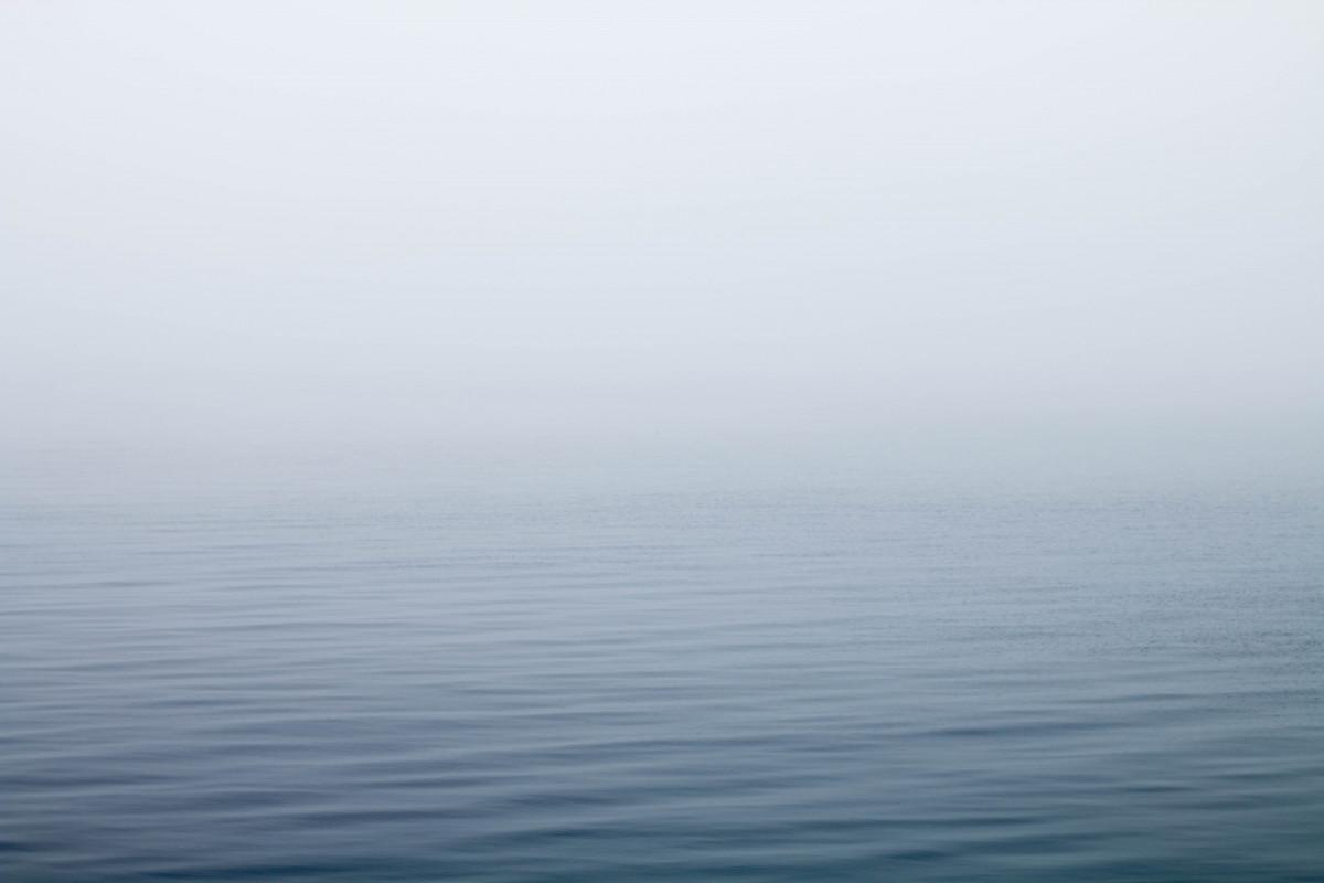 sea, coast, water, ocean, horizon, fog, mist, morning, wave, lake, foggy, tranquil, weather, haze, atmospheric phenomenon, wind wave
