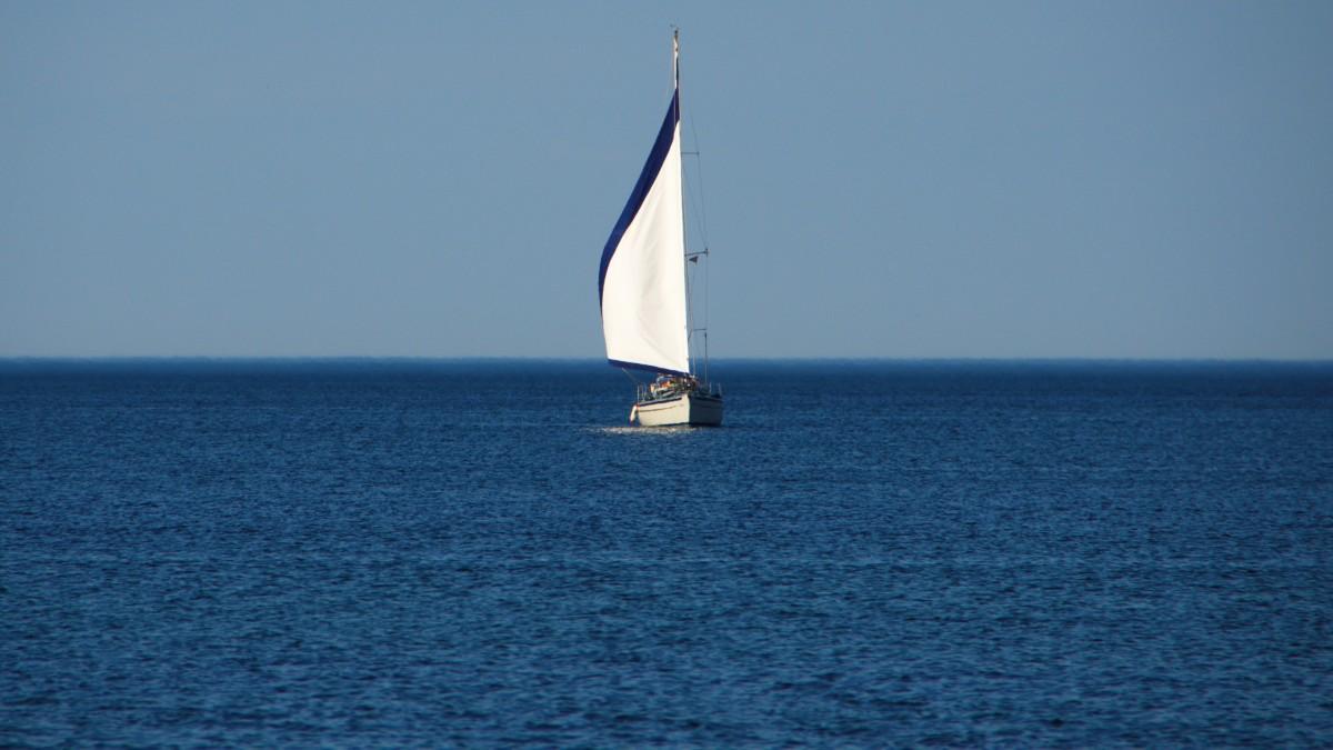 Images gratuites mer vent v hicule m t drapeau - Photo de voilier gratuite ...