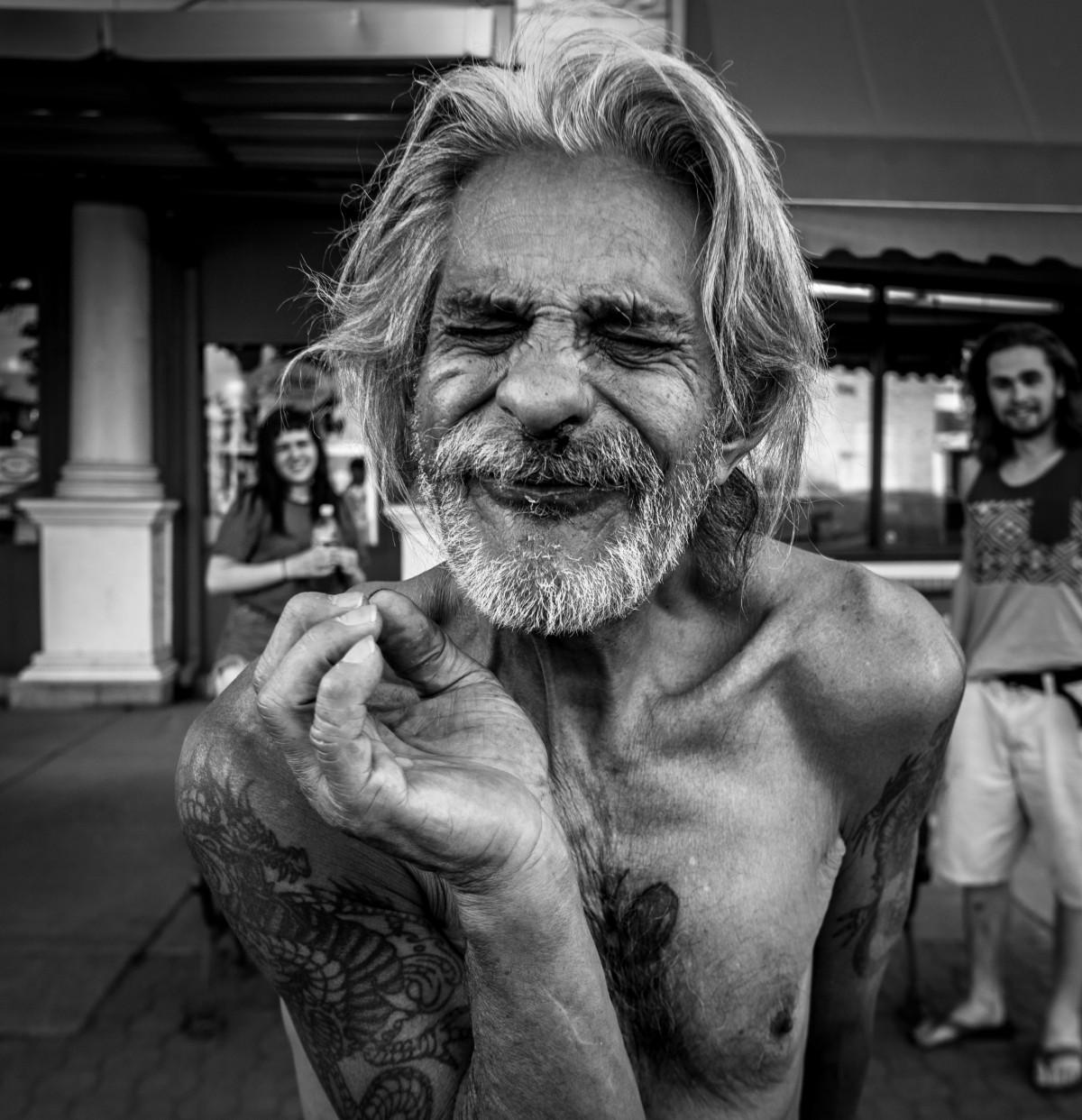 Images gratuites homme noir et blanc la photographie - Barbe homme noir ...