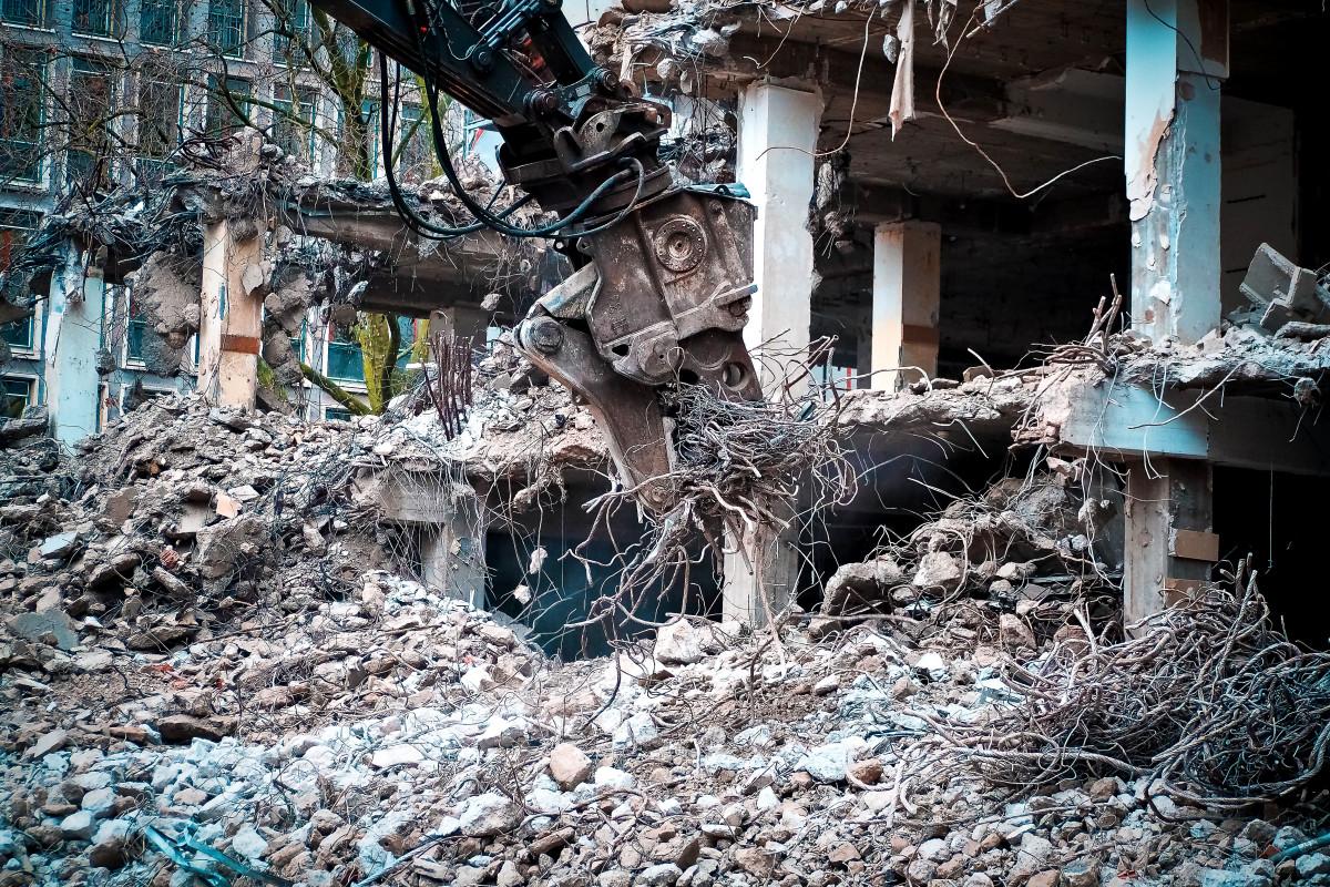 Free Images Building Home Crash Disaster Demolition