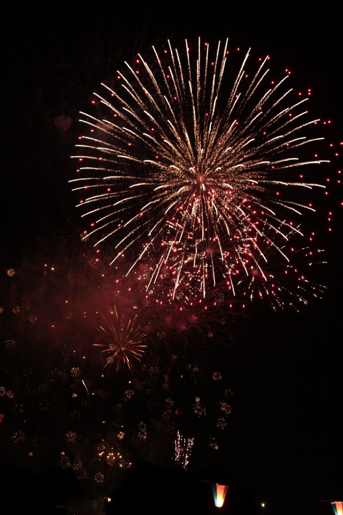 Free Images : light, night, smoke, dark, firework ...