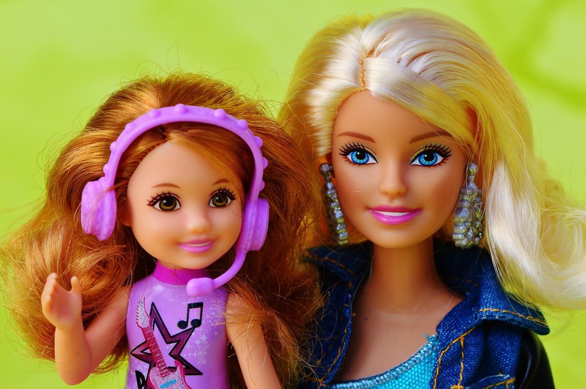 Фото кукол барби и дети