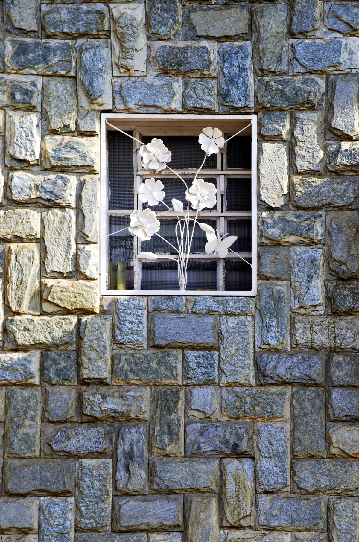Fotos gratis rock textura ventana pared fachada - Piedras para fachadas ...