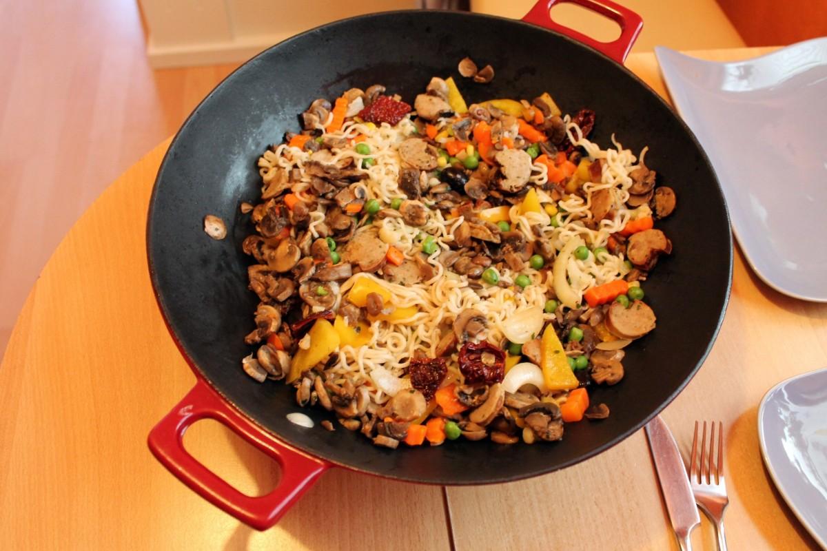 Images gratuites repas aliments produire l gume for Cuisinier wok