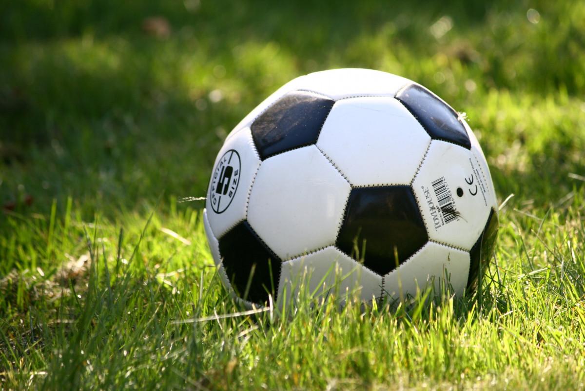 Открытка футбольный мяч, картинках