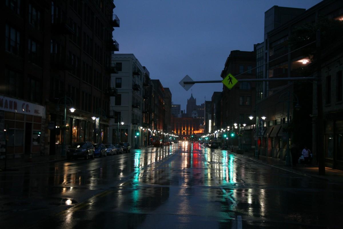 free images   light  road  street  night  rain  city  cityscape  downtown  dusk  evening