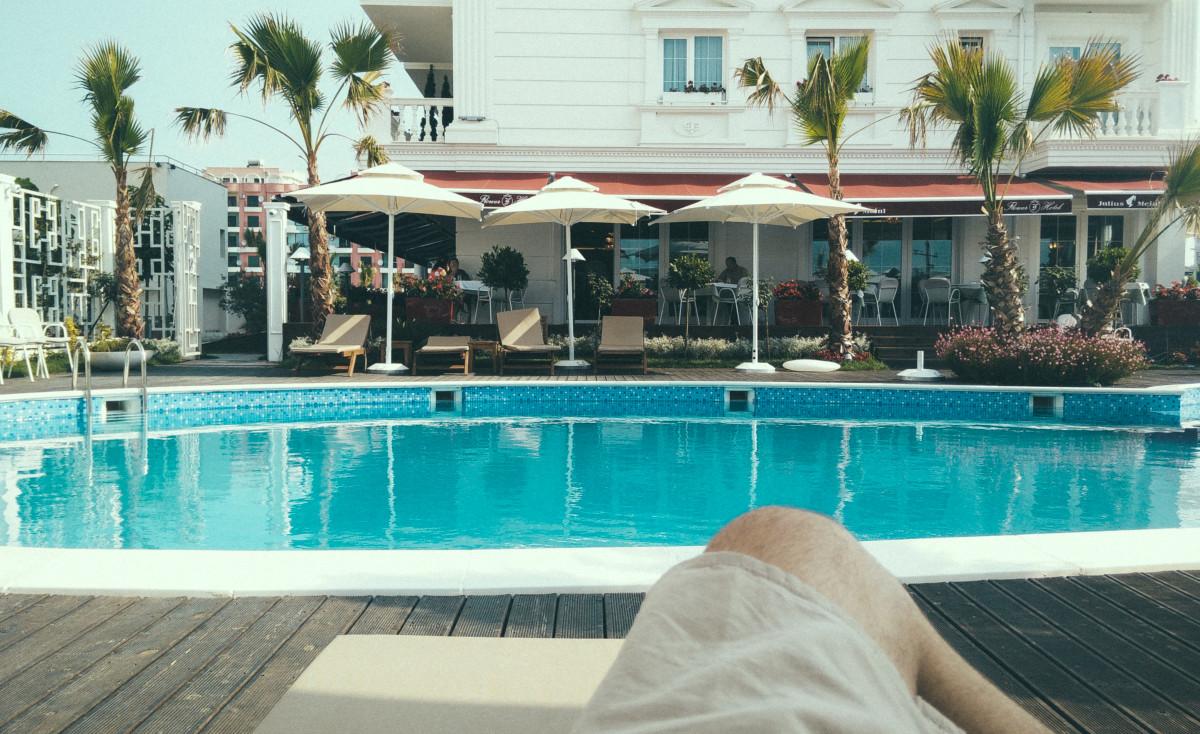 Free Images Villa Vacation Orange Swimming Pool Property Leisure Thailand Hotel Resort