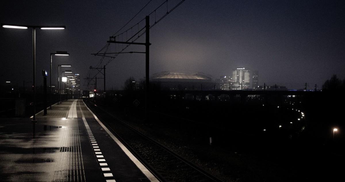 Free Images : fog, skyline, night, morning, building ...