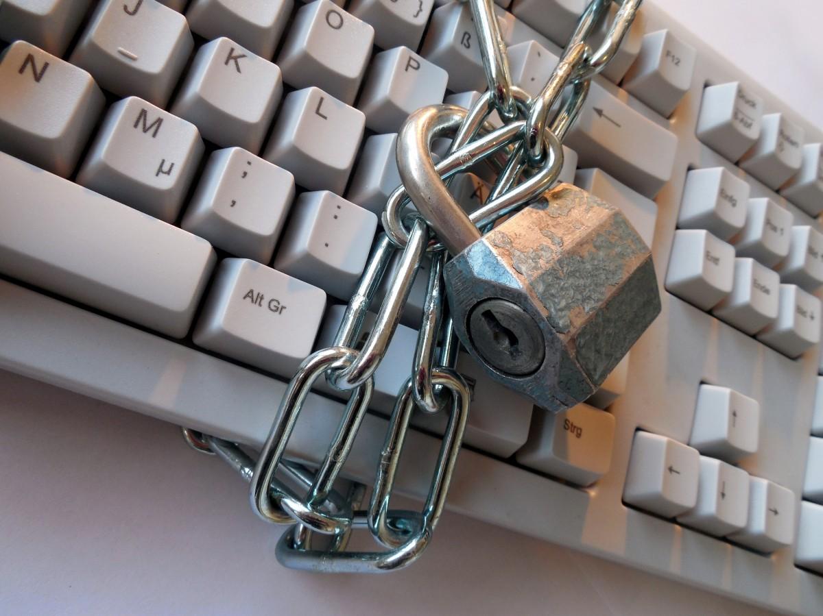 Padlocked Keyboard