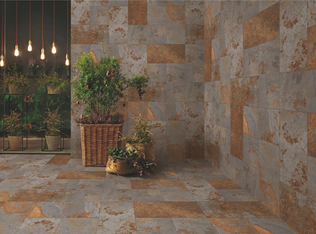 Free images floor interior wall architect brick for Azulejos para patios rusticos
