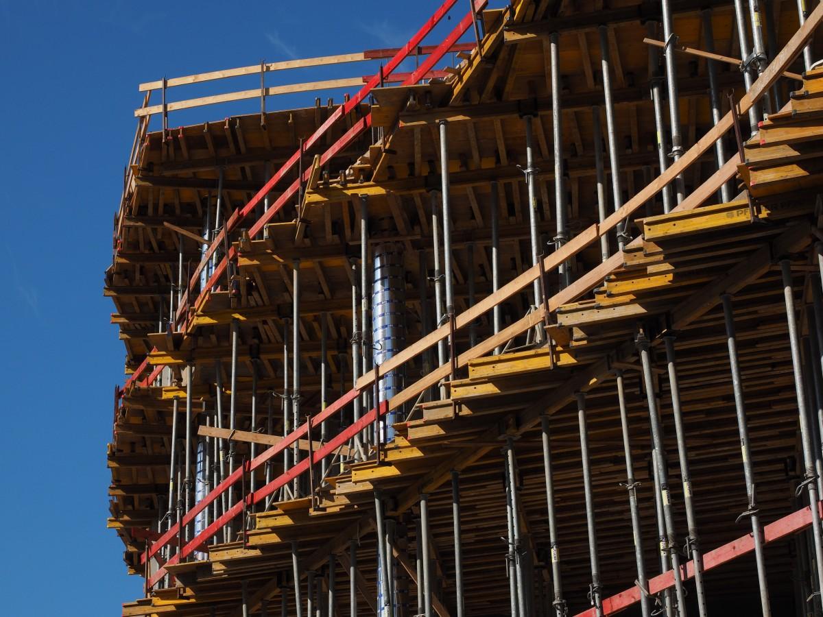 Free Images Structure Stadium Arena Scaffolding Site