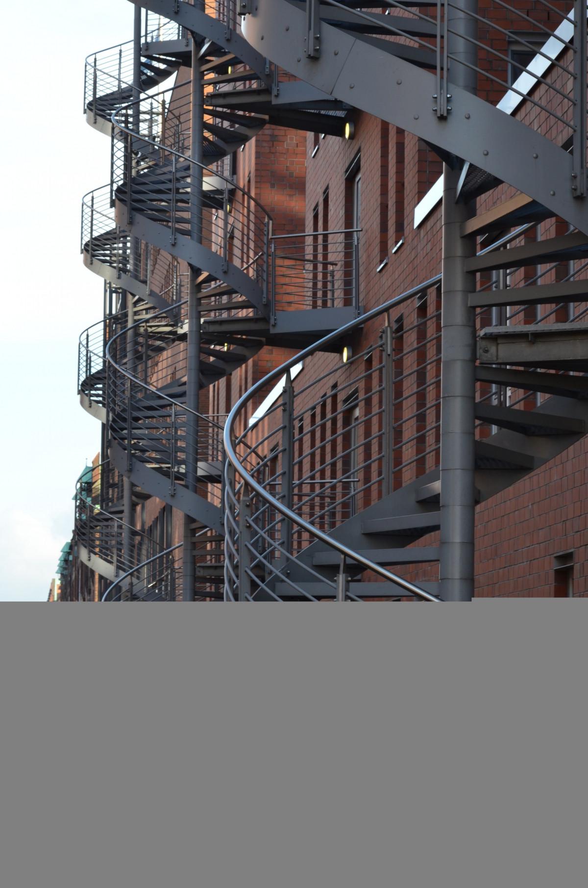 Treppe Hamburg kostenlose foto gebäude treppe metall industrie ziegel eisen