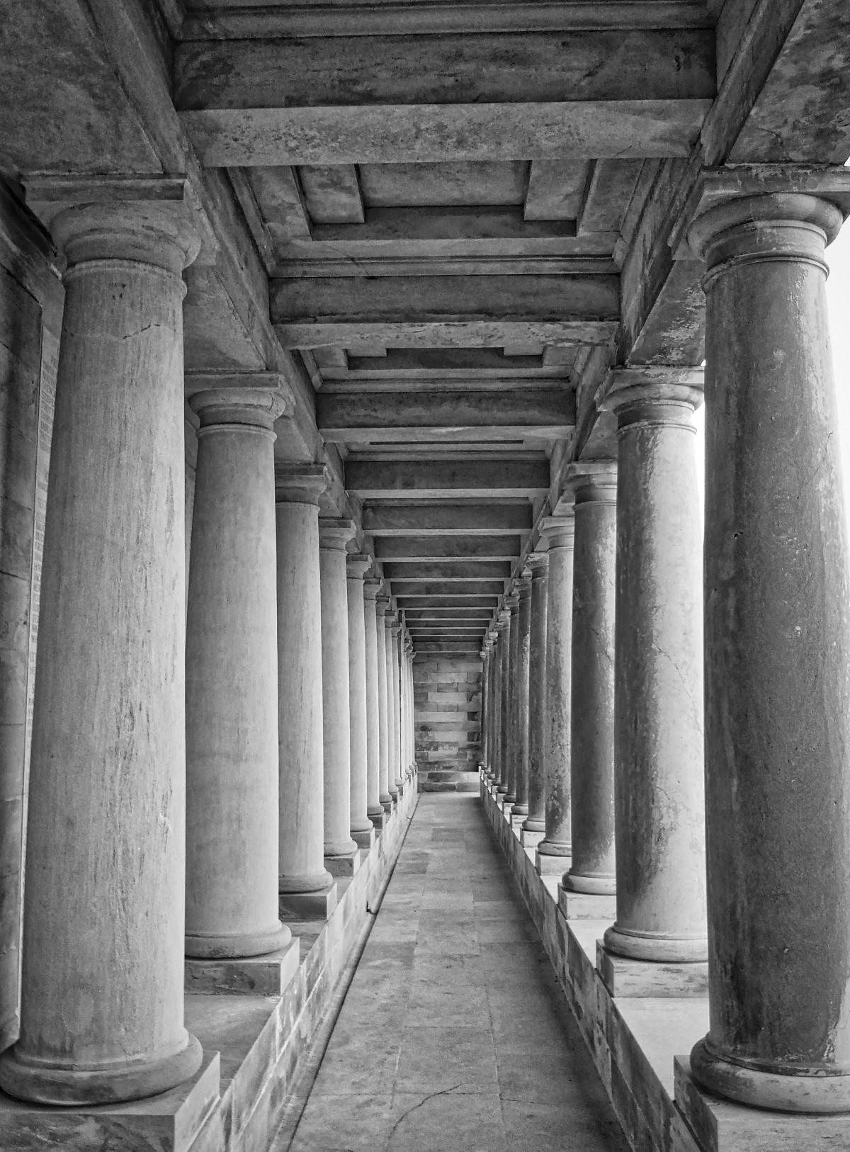 Greek architecture temple of zeus