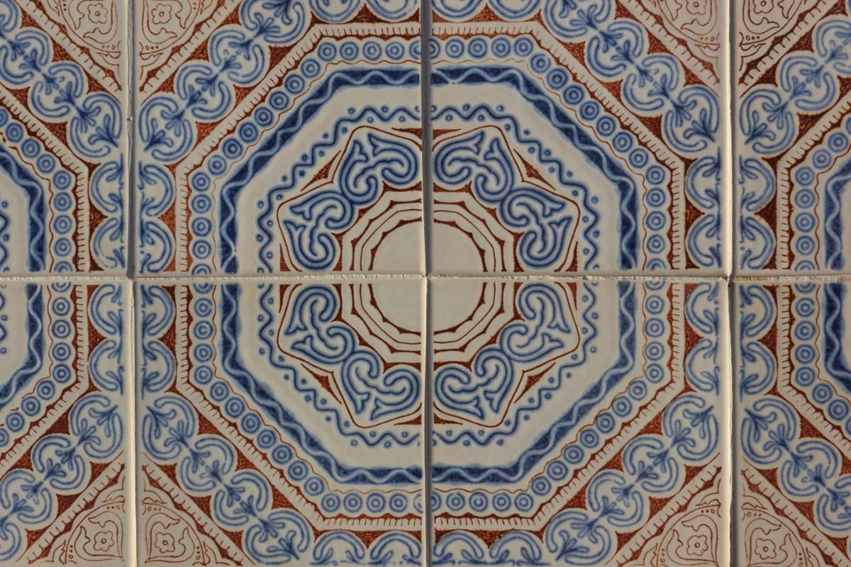 Fotos gratis textura piso patr n l nea cer mico for Azulejos clasicos
