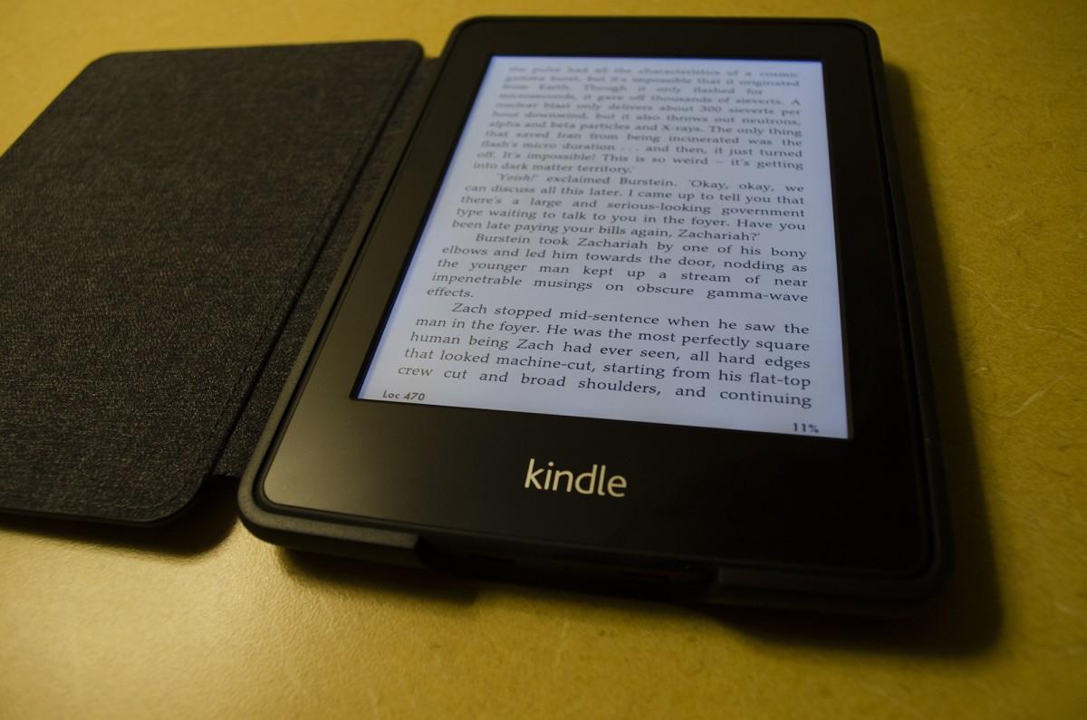 e book and kindle