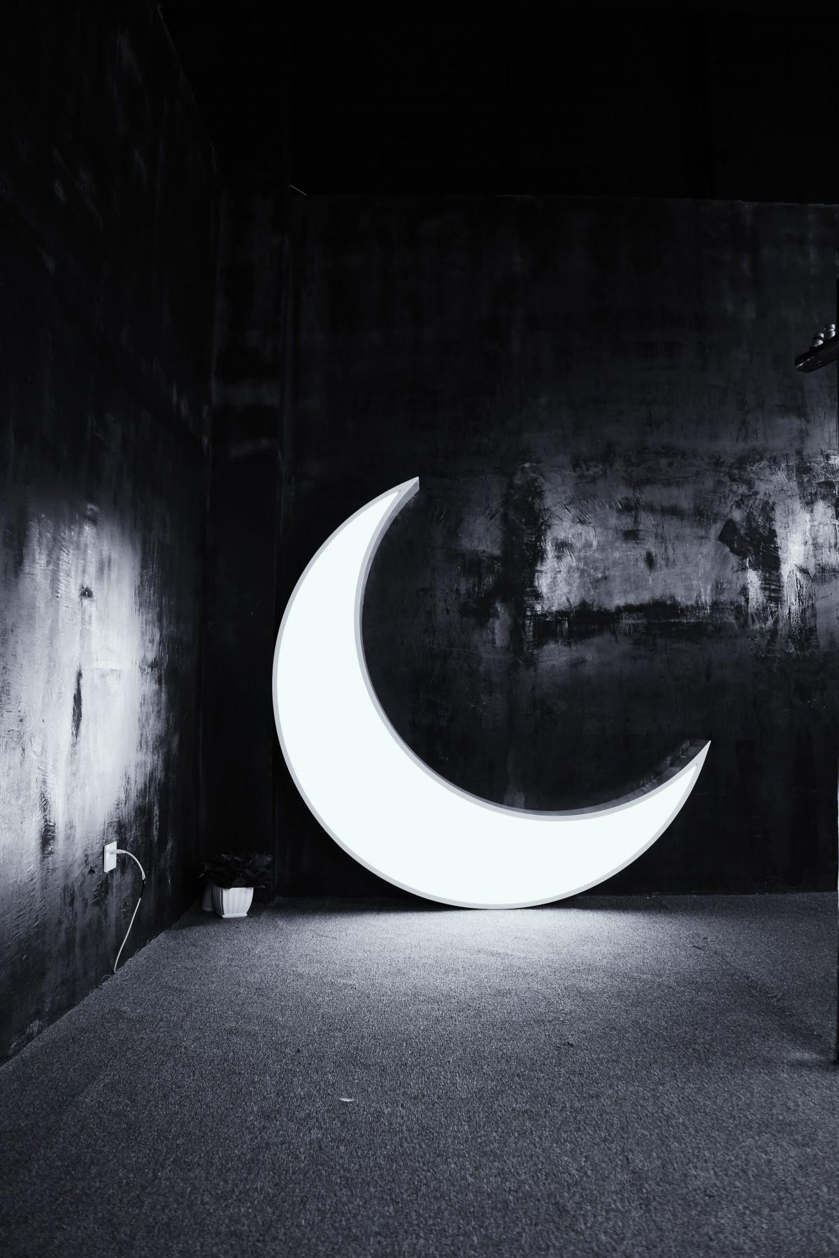 Fotos gratis : ligero, en blanco y negro, noche ...