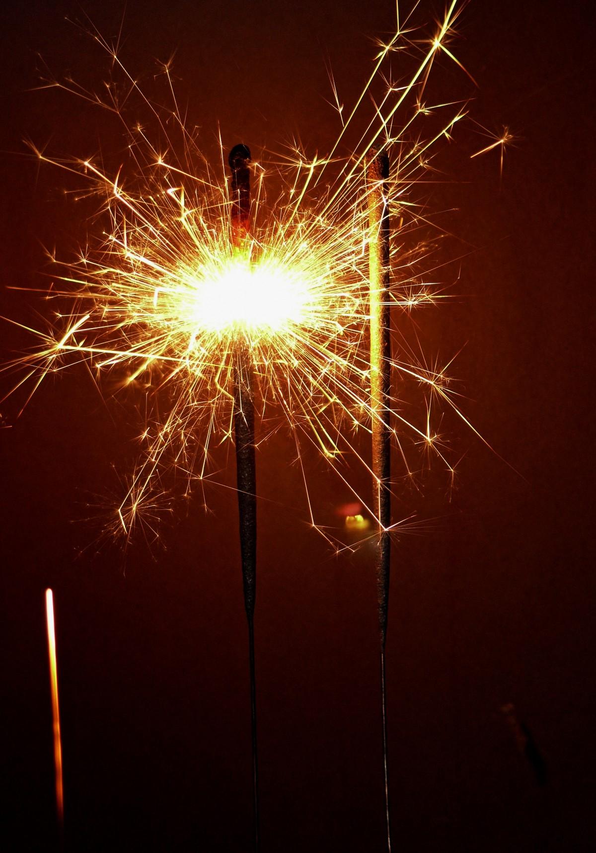 Free Images : Light, Flower, Sparkler, Darkness, Fireworks