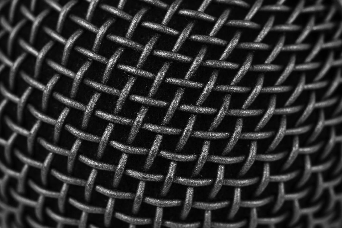 images gratuites abstrait noir et blanc rond spirale mod le ligne microphone monochrome. Black Bedroom Furniture Sets. Home Design Ideas