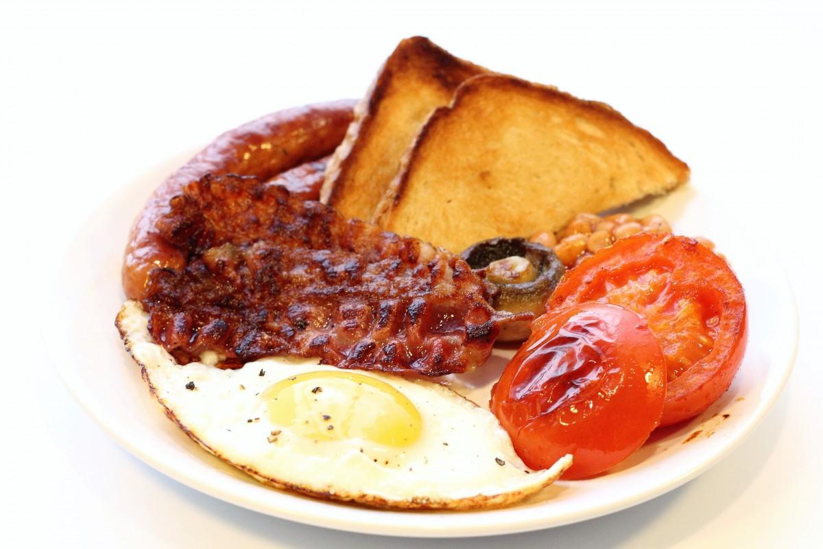 Fotos gratis plato cocina produce carne huevo frito - Cocinar calabaza frita ...