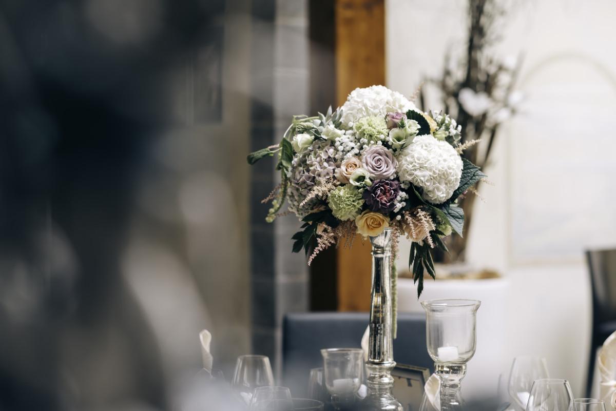 Kostenlose Foto Tabelle Blume Glas Feier Strau