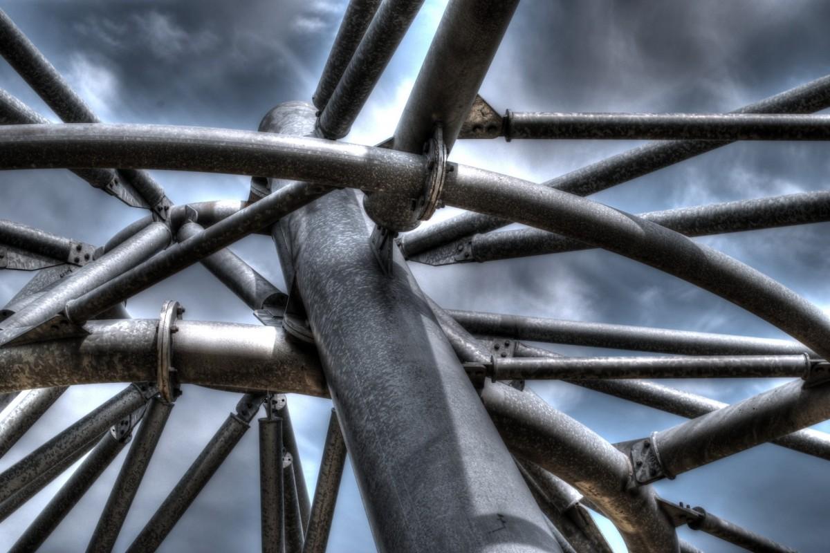 Images gratuites cl ture fen tre verre mat riel - Sculpture exterieure metal ...