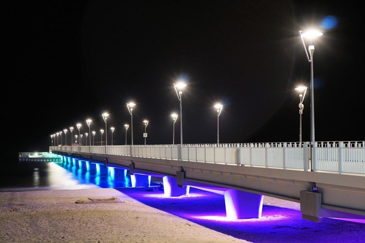 bridge architecture night - photo #40